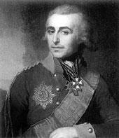 Портрет графа П.А.Толстого. В.Л.Боровиковский.1799г