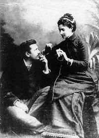 П.Н. и А.В. Трубецкие во время свадебного путешествия. Флоренция. 1884 г.
