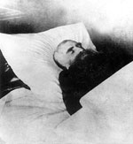 Вл. Соловьев на смертном одре. 1 августа 1900 г.