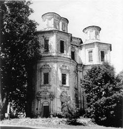Церковь Казанской иконы Божией матери. Фото 1970-х гг.
