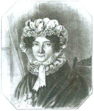 Неизвестный художник. Портрет Е.А.Трубецкой (?). 1820-е гг. ОР РГБ.