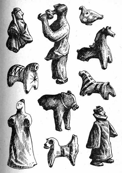 Глиняные игрушки на руси 157
